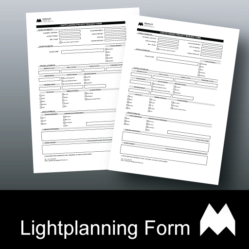 Modular Lightplanning Project Request Form brochure